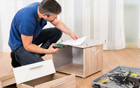 dismantling and fixing furniture
