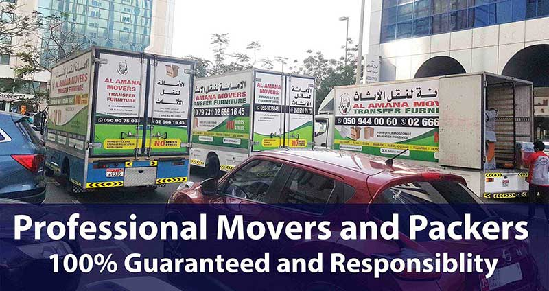 professional movers and packers in abu dhabi